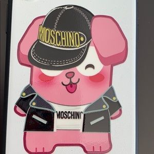NWT AUTHENTIC MOSCHINO IPHONE Xs, X CASE
